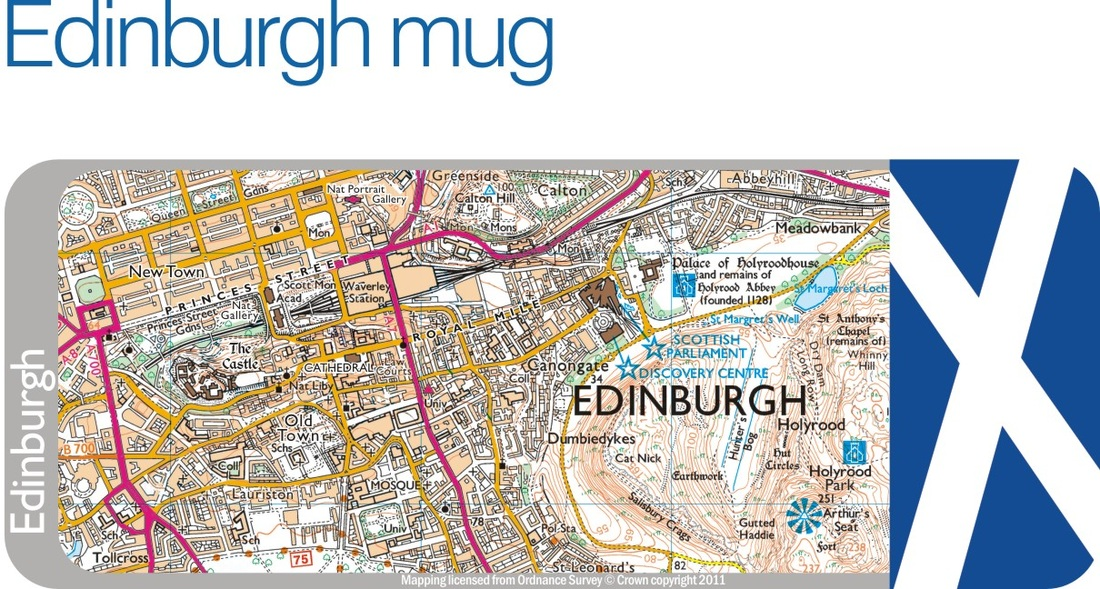 Places CG weekend365 – Edinburgh Tourist Map